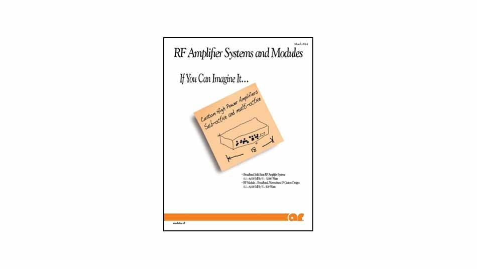 RF Amplifier Systems and Modules